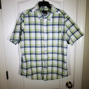 MARMOT MENS BUTTON DOWN SIZE LARGE